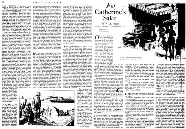 Article Preview: For Catherine's Sake, October 1917 | Maclean's