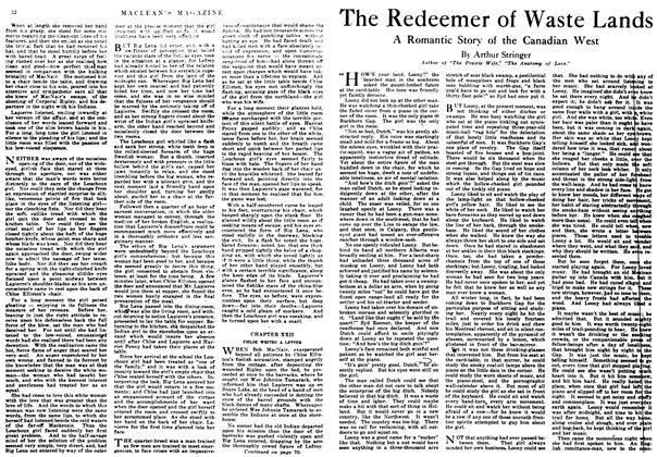 Article Preview: The Redeemer of Waste Lands, October 1917 | Maclean's