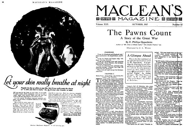 Article Preview: The Pawns Count, October 1917 | Maclean's