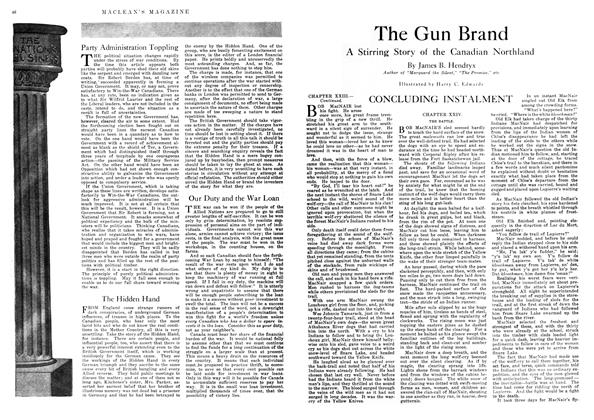 Article Preview: The Gun Brand, November 1917 | Maclean's