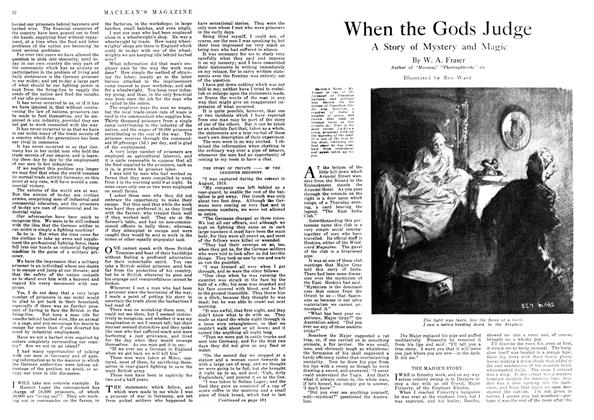 Article Preview: When the Gods Judge, November 1917 | Maclean's