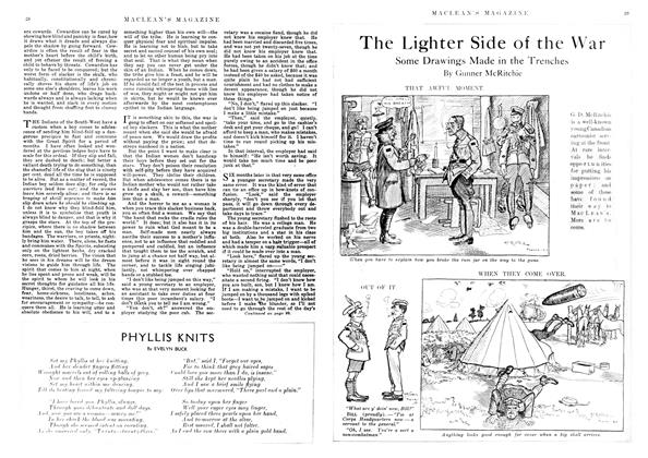 Article Preview: The Lighter Side of the War, November 1917 | Maclean's