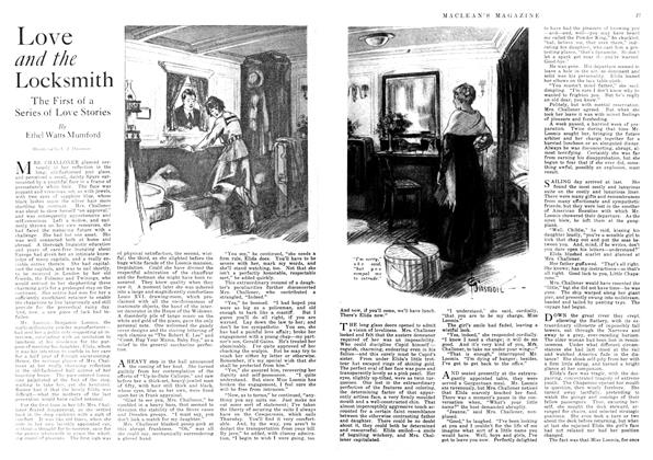 Article Preview: Love and the Locksmith, December 1917 | Maclean's