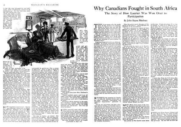 Article Preview: Why Canadians Fought in South Africa, December 1917 | Maclean's