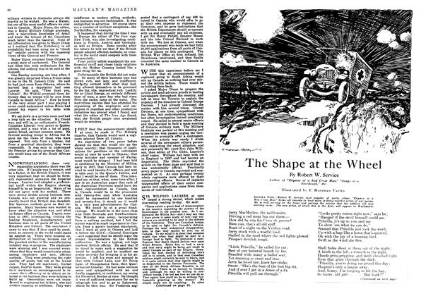 Article Preview: The Shape at the Wheel, December 1917 | Maclean's