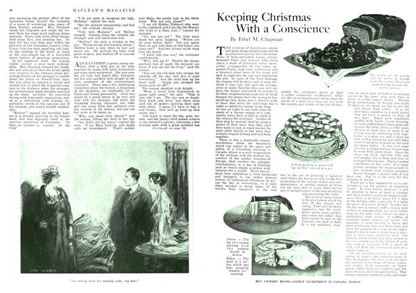 Article Preview: Keeping Christmas With a Conscience, December 1917 | Maclean's