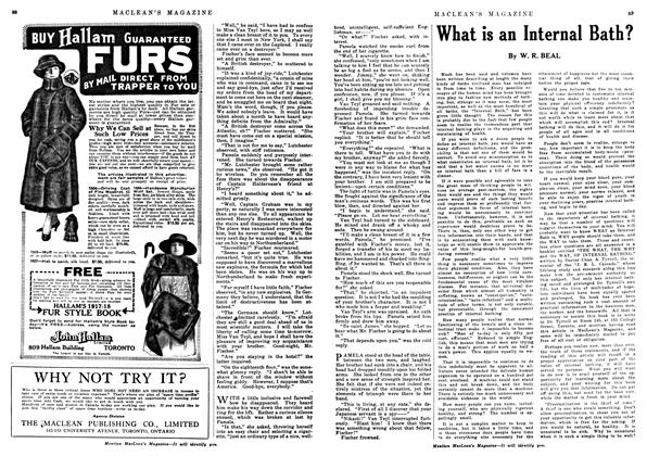 Article Preview: What is an Internal Bath?, December 1917 | Maclean's
