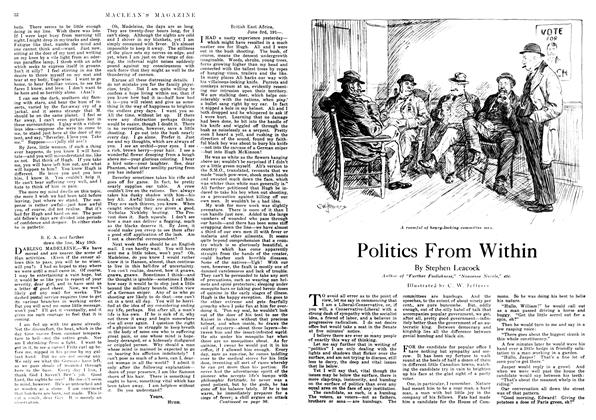 Article Preview: Politics From Within, December 1917 | Maclean's