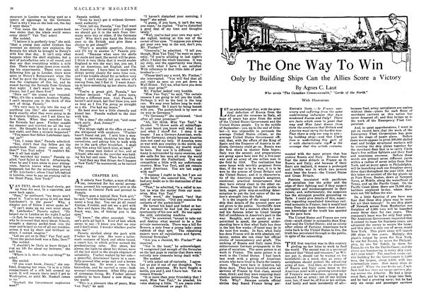 Article Preview: The One Way To Win, January 1918 | Maclean's
