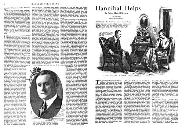 Article Preview: Hannibal Helps, January 1918 | Maclean's