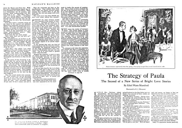 Article Preview: The Strategy of Paula, January 1918 | Maclean's