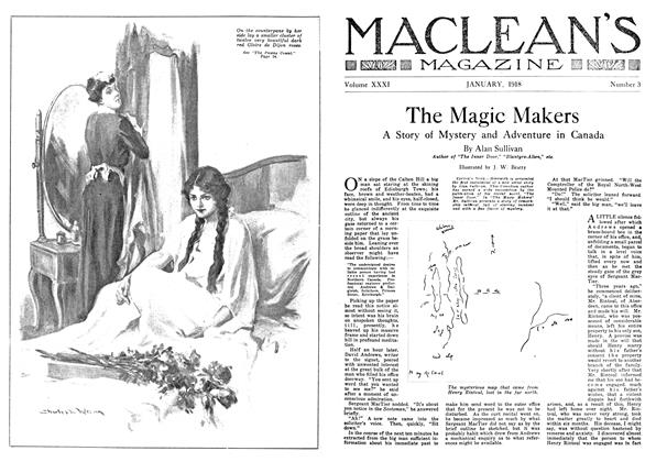 Article Preview: The Magic Makers, January 1918 | Maclean's