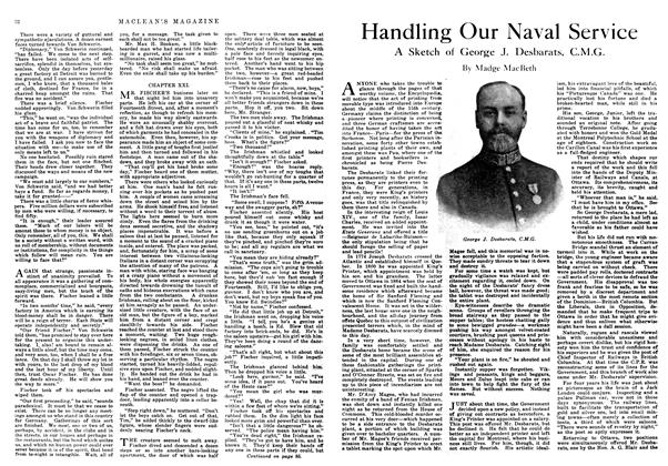 Article Preview: Handling Our Naval Service, February 1918 | Maclean's