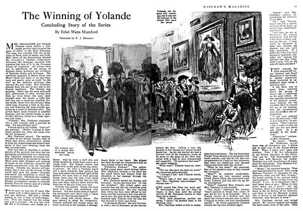 Article Preview: The Winning of Yolande, February 1918 | Maclean's
