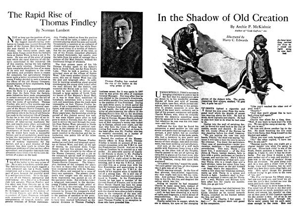Article Preview: The Rapid Rise of Thomas Findley, February 1918 | Maclean's