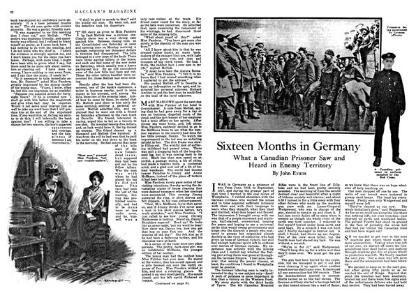 Article Preview: Sixteen Months in Germany, March 1918 | Maclean's