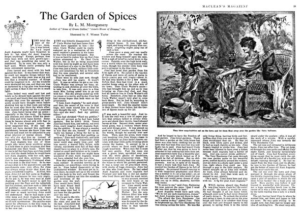 Article Preview: The Garden of Spices, March 1918 | Maclean's