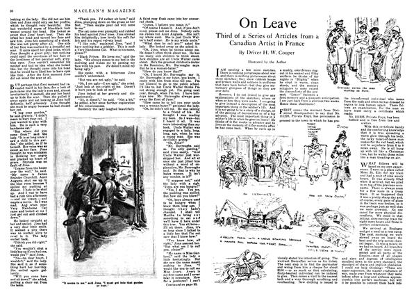 Article Preview: On Leave, March 1918 | Maclean's