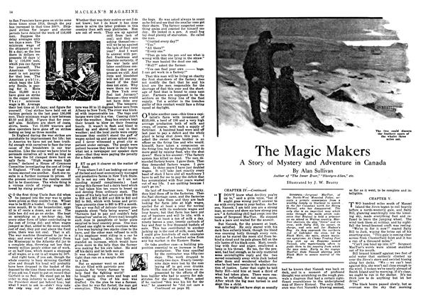 Article Preview: The Magic Makers, March 1918 | Maclean's