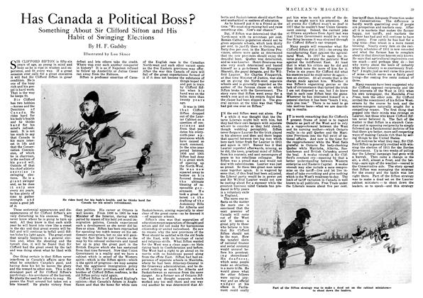 Article Preview: Has Canada a Political Boss?, March 1918 | Maclean's