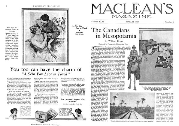 Article Preview: The Canadians in Mesopotamia, March 1918 | Maclean's