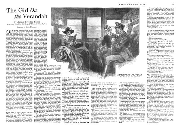 Article Preview: The Girl On the Verandah, May 1918 | Maclean's