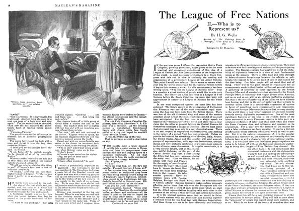 Article Preview: The League of Free Nations, May 1918 | Maclean's