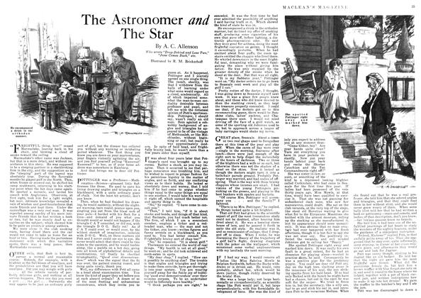 Article Preview: The Astronomer and The Star, June 1918 | Maclean's