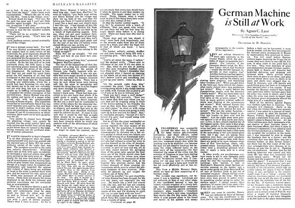 Article Preview: German Machine is Still at Work, June 1918 | Maclean's