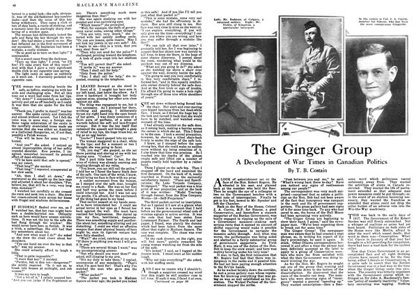 Article Preview: The Ginger Group, June 1918 | Maclean's