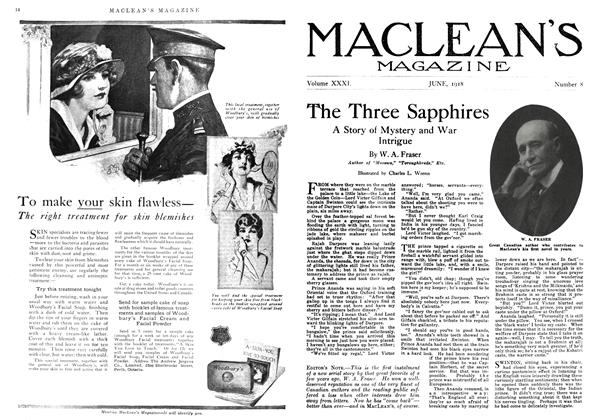 Article Preview: The Three Sapphires, June 1918 | Maclean's