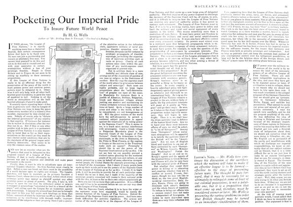 Article Preview: Pocketing Our Imperial Pride, July 1918 | Maclean's