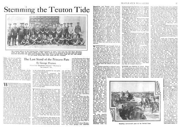 Article Preview: Stemming the Teuton Tide, July 1918 | Maclean's