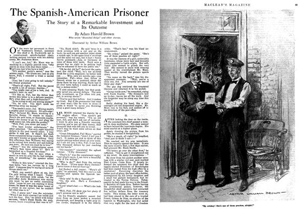 Article Preview: The Spanish-American Prisoner, August 1918 | Maclean's