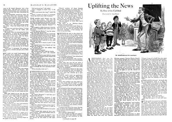 Article Preview: Uplifting the News, August 1918 | Maclean's