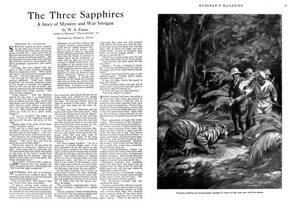 Article Preview: The Three Sapphires, August 1918 | Maclean's