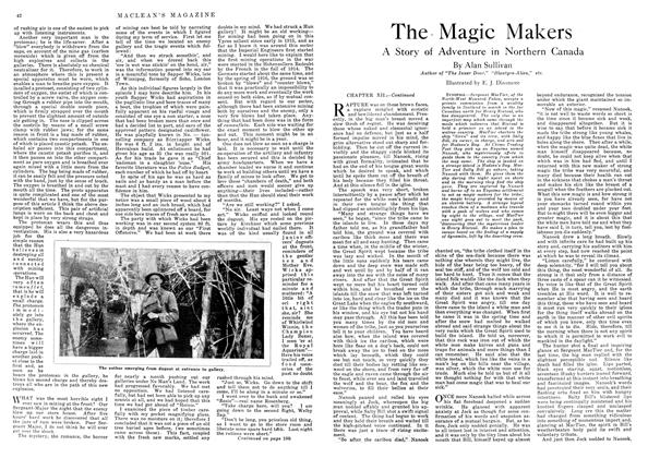 Article Preview: The Magic Makers, August 1918 | Maclean's