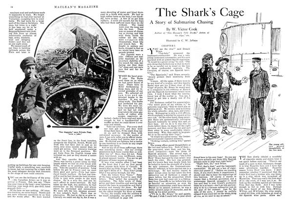 Article Preview: The Shark's Cage, August 1918 | Maclean's