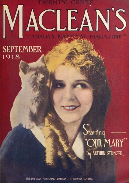 Issue: - September 1918 | Maclean's