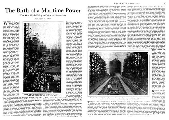 Article Preview: The Birth of a Maritime Power, September 1918 | Maclean's