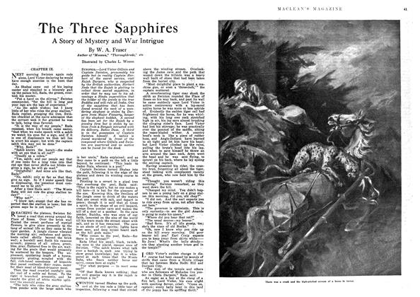 Article Preview: The Three Sapphires, September 1918 | Maclean's