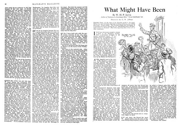 Article Preview: What Might Have Been, September 1918 | Maclean's