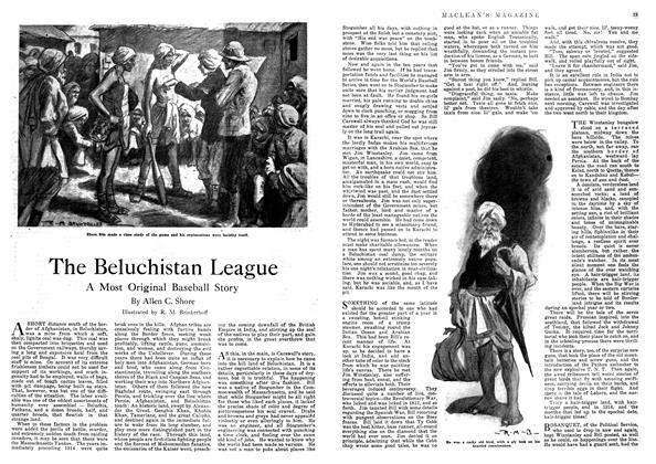 Article Preview: The Beluchistan League, September 1918 | Maclean's