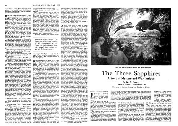 Article Preview: The Three Sapphires, October 1918   Maclean's