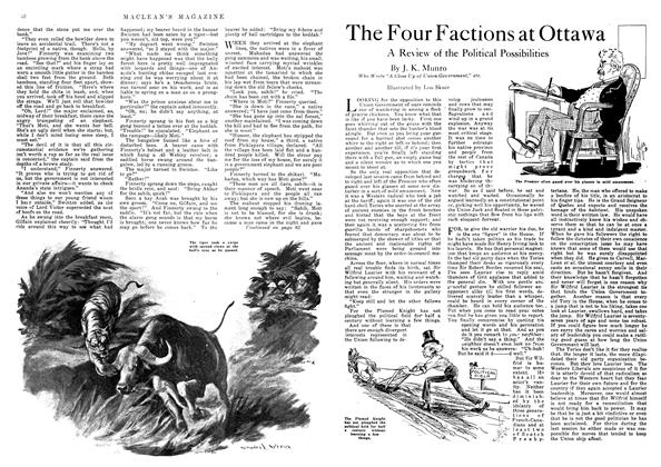 Article Preview: The Four Factions at Ottawa, October 1918 | Maclean's
