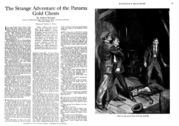 Article Preview: The Strange Adventure of the Panama Gold Chests, October 1918 | Maclean's