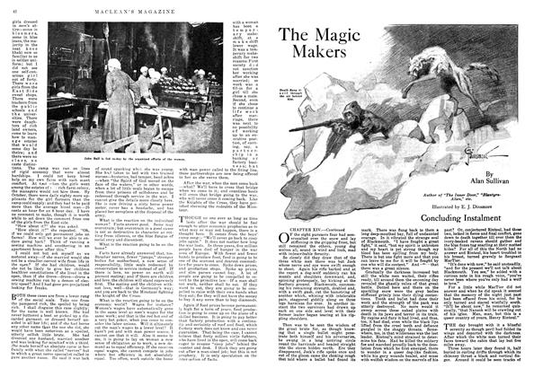 Article Preview: The Magic Makers, October 1918 | Maclean's