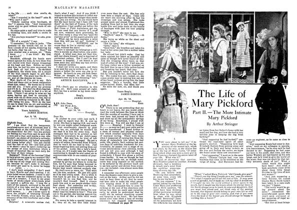Article Preview: The Life of Mary Pickford, October 1918 | Maclean's