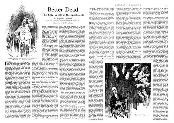 Article Preview: Better Dead, November 1918 | Maclean's