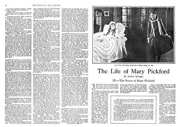 Article Preview: The Life of Mary Pickford, November 1918 | Maclean's